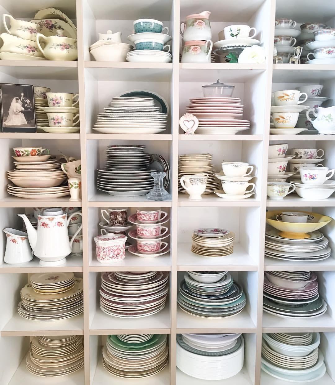 Organizar a casa, louças organizadas